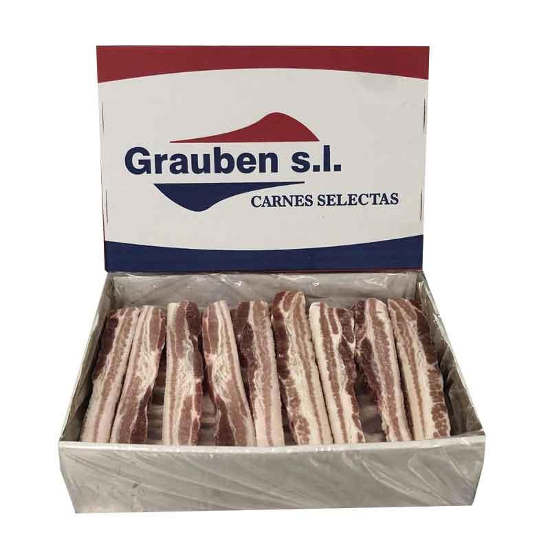 Panceta de cerdo fileteada | Grauben
