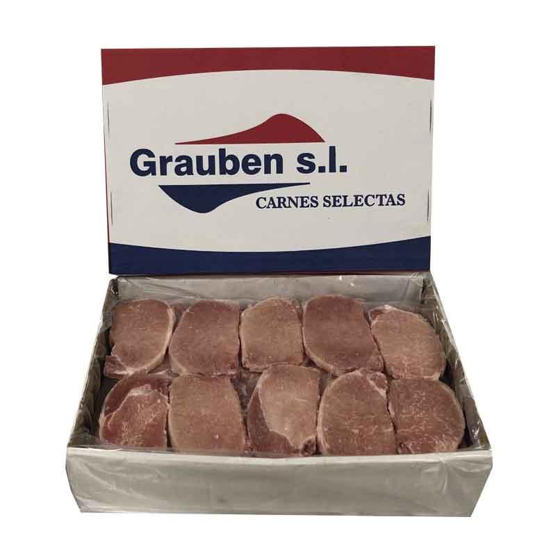 Lomo de cerdo fileteado sazonado | Grauben